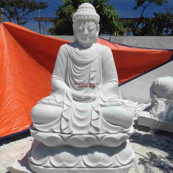 Tượng Phật Thích Ca đá nguyên khối