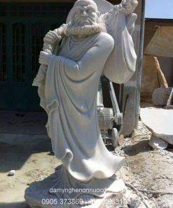 Tượng Đạt Ma Sư Tổ đá tự nhiên