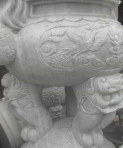Lư hương đá đế rùa