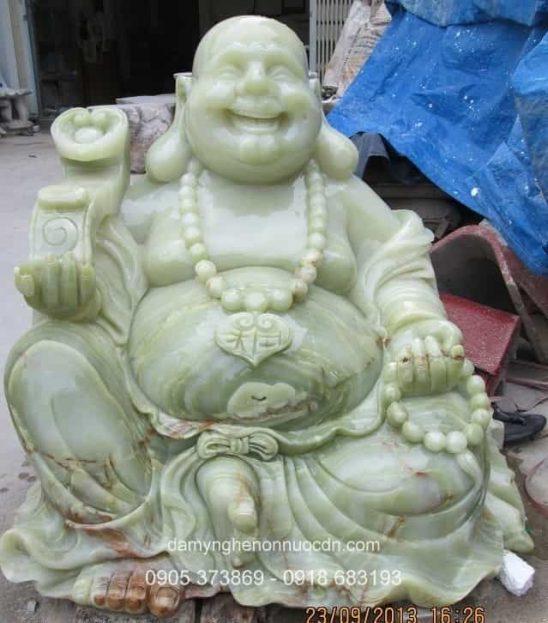 Tượng Phật Di Lặc đá Pakistan tự nhiên