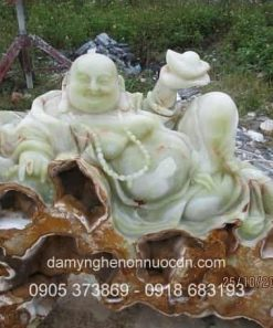 Tượng Phật Di Lặc phong thủy đá Pakistan