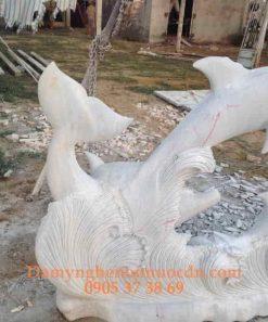 Tượng Cá Heo đá tự nhiên