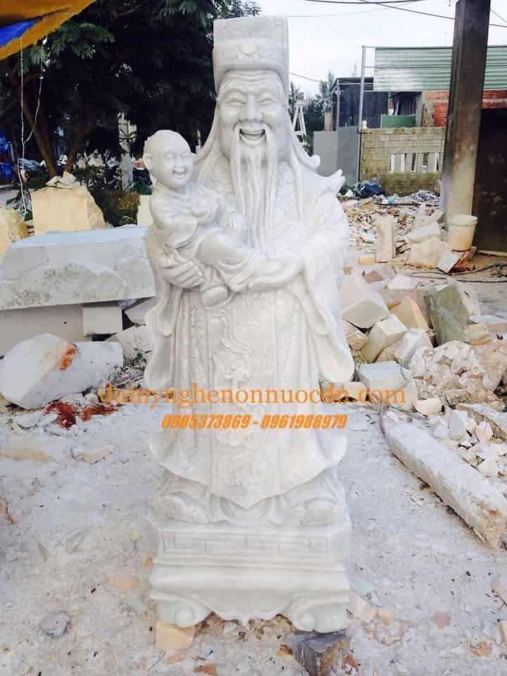 TTượng Phúc Lộc Thọ đá tự nhiên