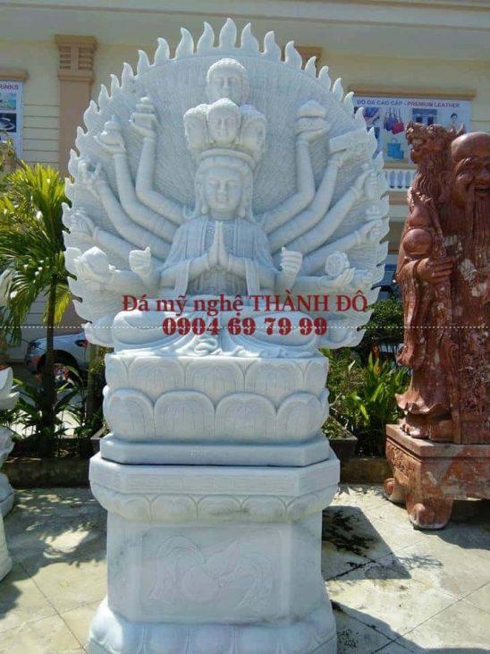 Tượng Thiên Thủ Thiên Nhãn đá tự nhiên