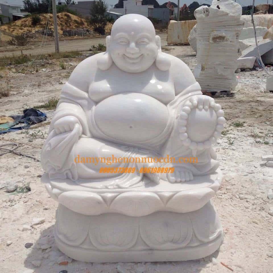 Tượng Phật Di Lặc - đá mỹ nghệ Thành Đô