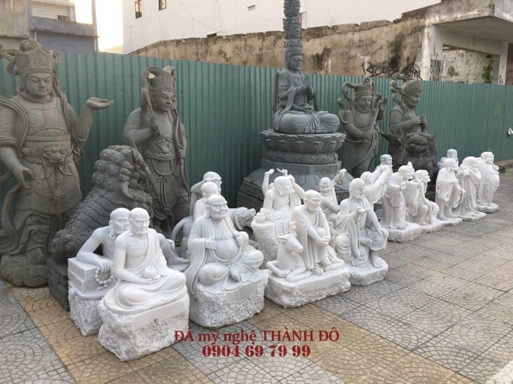 18 Vị La Hán - Tượng Thập Bát La Hán