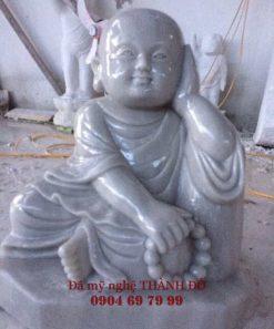 Tượng Chú Tiểu bằng đá