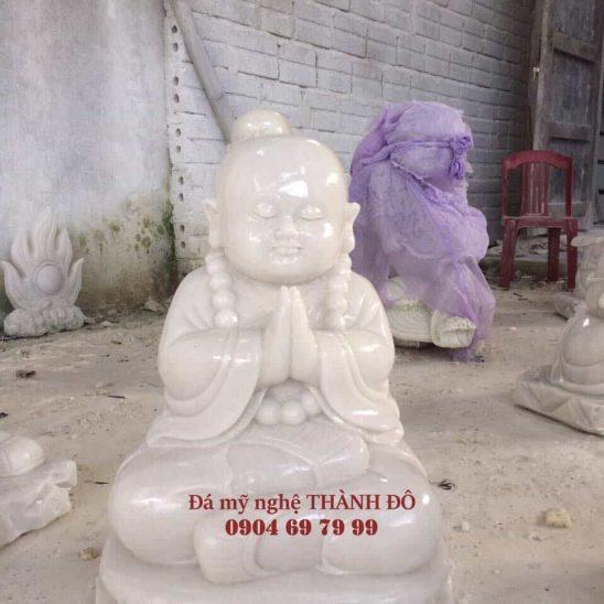 Tượng Chú Tiểu bằng đá tự nhiên