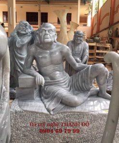 Tượng La Hán Ba Tiêu