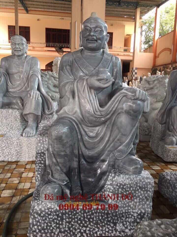 Tượng La Hán Cử Bát