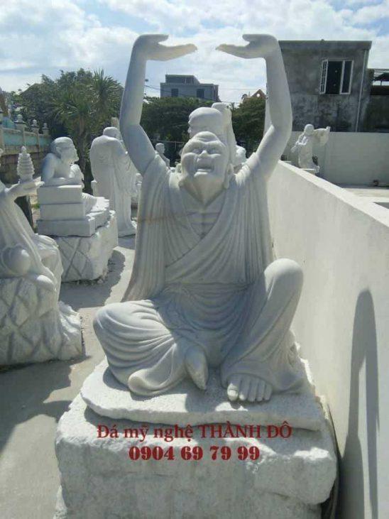 Tượng La Hán Thám Thủ bằng đá