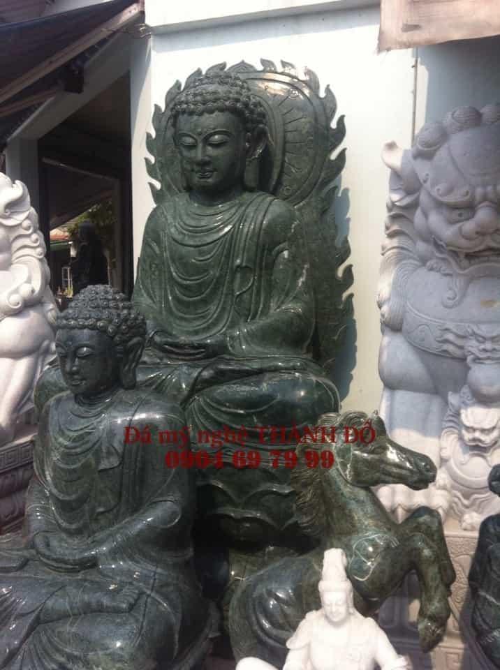 Tượng Phật Thích Ca ngọc Ấn Độ