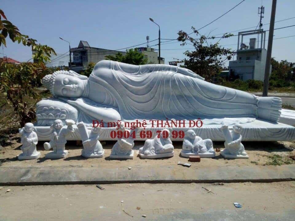 Tượng Phật Nhật Niết Bàn