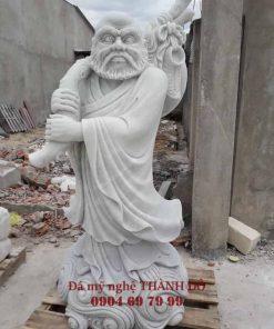 Tượng Đạt Ma Sư Tổ bằng đá tự nhiên