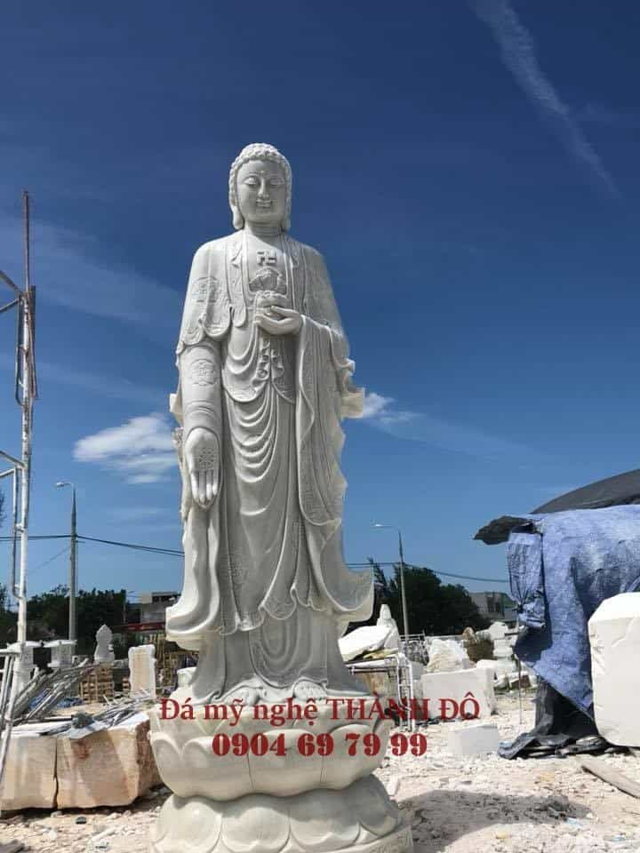 Tượng Phật A Di Đà bằng đá tự nhiên