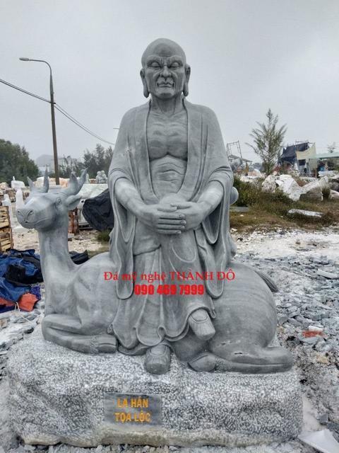 Thập Bát La Hán - La Hán Tọa Lộc