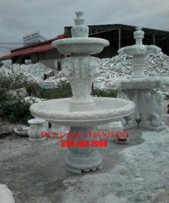 Đài phun nước đá cẩm thạch