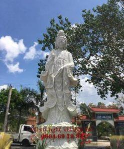 Tượng Phật Quan Âm cao 4m