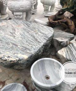 Bàn ghế đá tuyết sơn