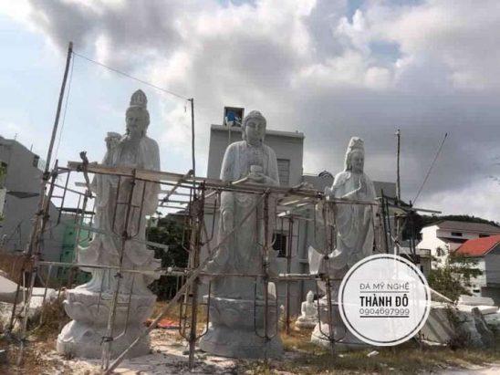 Bộ tượng Tây Phương Tam Thánh Phật