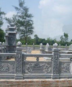 Lan can đá cho lăng mộ