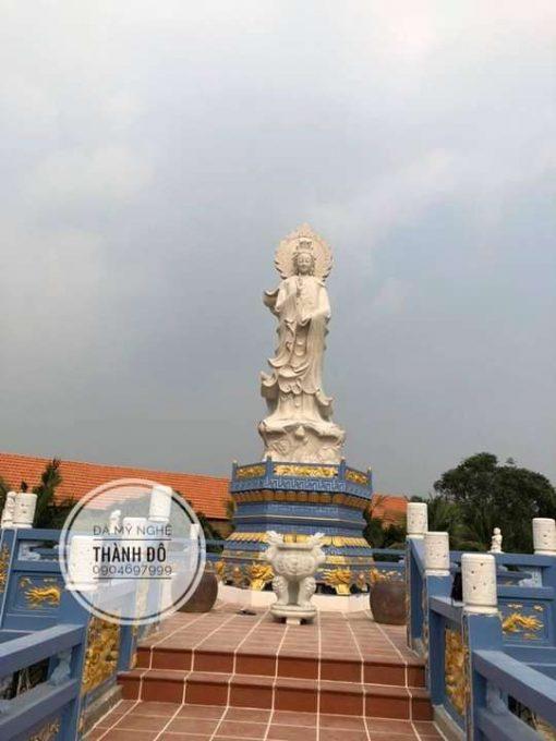 Nhà chùa thỉnh tượng Phật về an vị để Phật tử có nơi chiêm bái