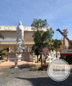 Tượng Phật A Di Đà được an vị tại chùa