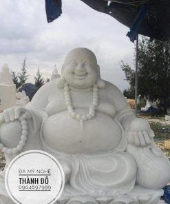 Tượng Phật Di Lặc bằng đá đẹp nhất