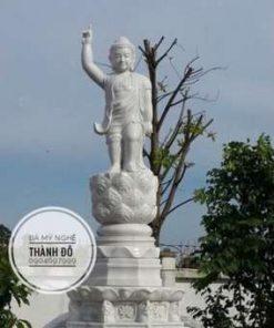 Tượng Phật Thích Ca Đản Sanh đá tự nhiên