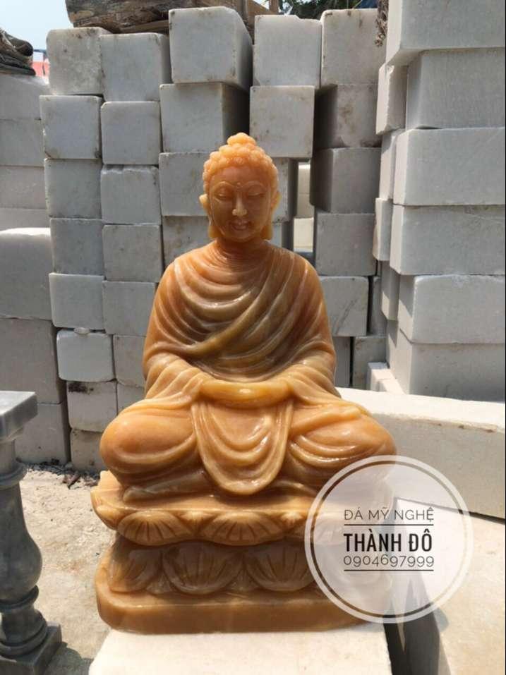 Tượng Phật Thích Ca đá ngọc Hoàng Long