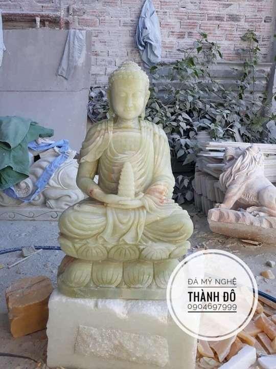 Tượng Phật Thích Ca đá ngọc Pakistan