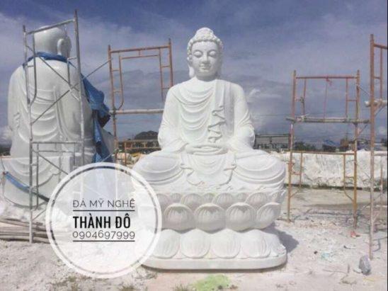 Tượng Phật Thích Ca ngồi cao 3.5m