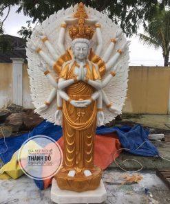 Tượng Phật bà nghìn mắt nghì tay đứng cao 2.5m
