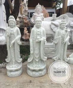 Tượng Tam Thánh Phật