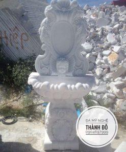 Bồn rửa mặt bằng đá nghệ thuật