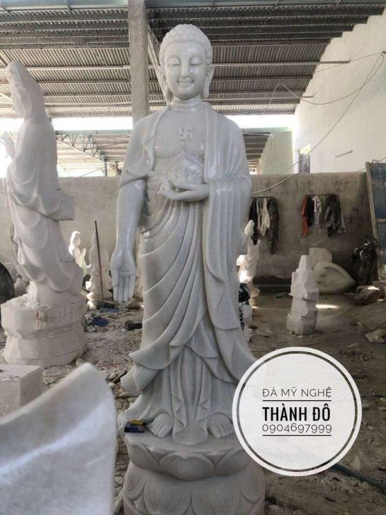Tượng Phật A Di Đà 2.2m