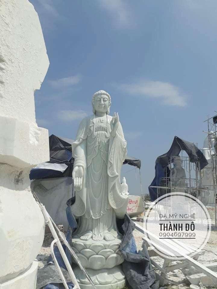 Tượng Phật A Di Đà cao 3.5m