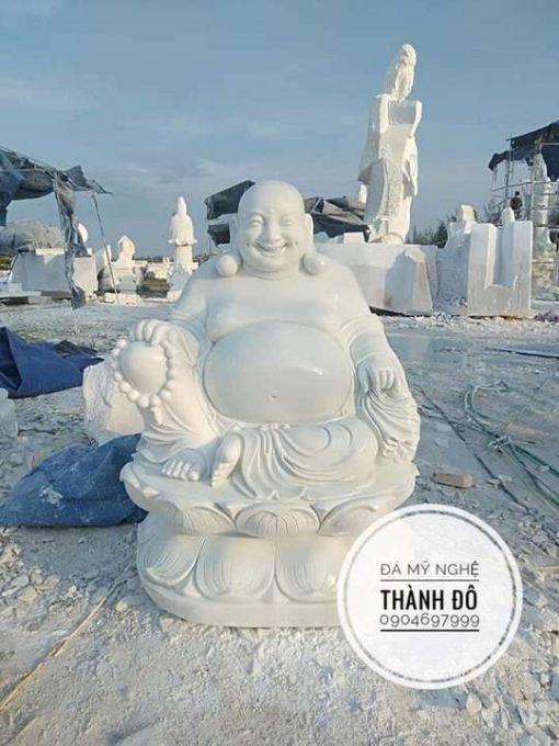 Tượng Phật Di Lặc ngồi 1.2m