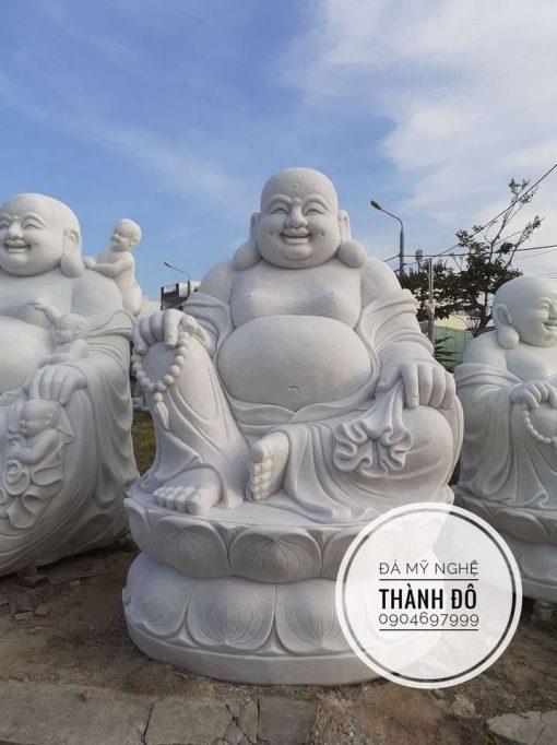 Tượng Phật Di Lặc ngồi 2.2m