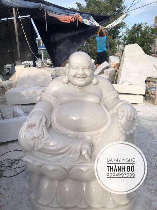Tượng Phật Di Lặc ngồi cao 1.2m