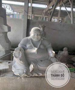 Tượng Phật Di Lặc ngồi không đế