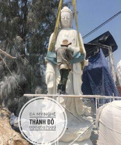 Tượng Phật A Di Đà bằng đá tự nhiên đẹp nhất