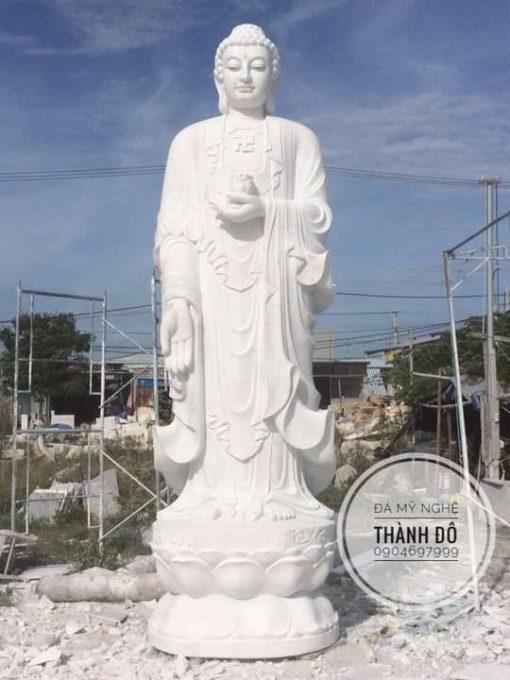 Tượng Phật A Di Đà đứng đẹp