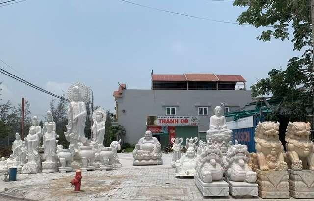 Đá Non Nước Đà Nẵng với vô vàn sản phẩm được điêu khắc từ đá