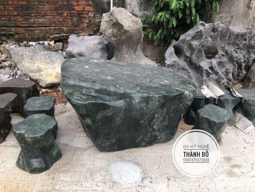 Bộ bàn ghế đá Ấn Độ