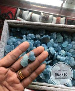 Mặt tỳ hưu đá Aqua
