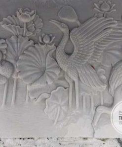 Phù điêu đá cẩm thạch trắng