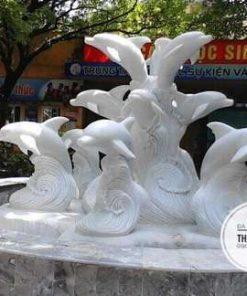 Tượng cá heo đá mỹ nghệ Thành Đô
