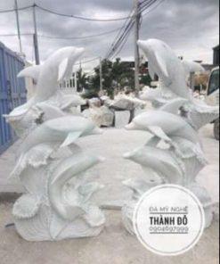 Tượng cá heo phong thủy
