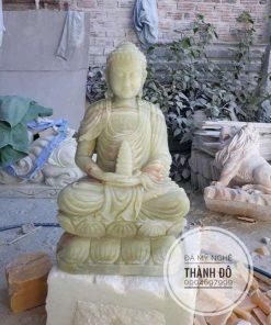 Tượng Phật A Di Đà ngọc Pakistan